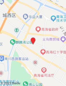 西宁旅游地图