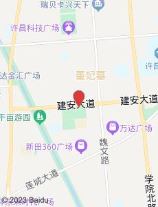 许昌旅游地图