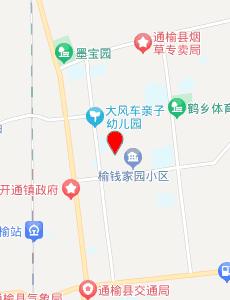 通榆旅游地图