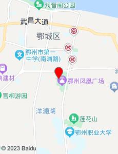 鄂州旅游地图