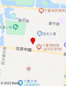 银川旅游地图