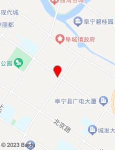 阜宁旅游地图
