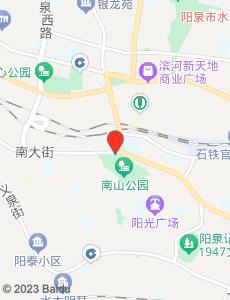 阳泉旅游地图