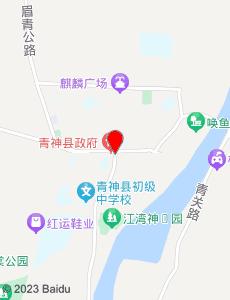 青神旅游地图