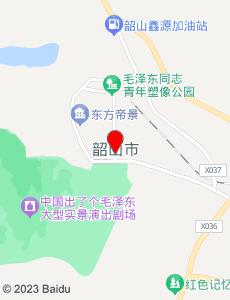 韶山旅游地图
