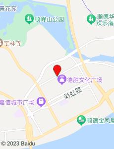 顺德旅游地图