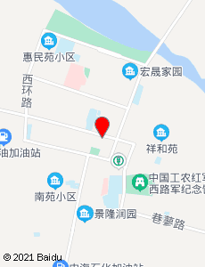 高台旅游地图