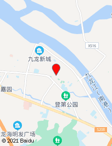 龙海旅游地图