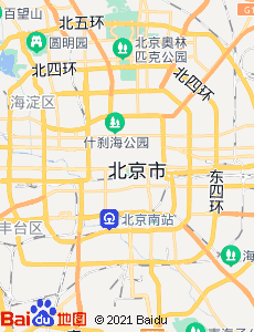 河间旅游地图