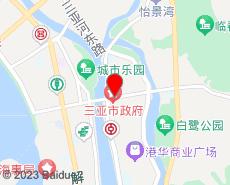 三亚旅游地图