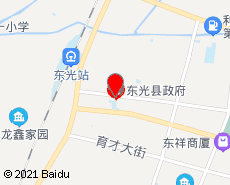 东光旅游地图