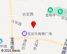 农安旅游地图