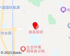 南县旅游地图