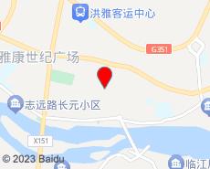 洪雅旅游地图