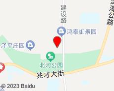 滦南旅游地图