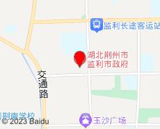 监利旅游地图