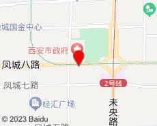 西安旅游地图