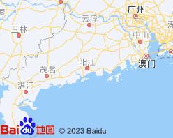 阳江电子地图