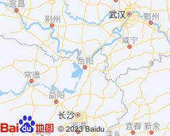 岳阳电子地图