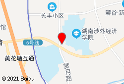 长沙多喜爱家庭旅馆地图