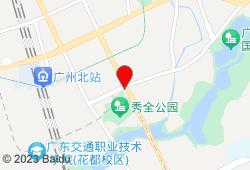 广州月晴酒店地图
