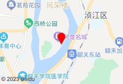 韶关风度华美达广场酒店地图