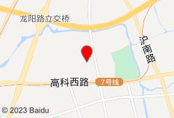 上海浦东星河湾酒店地图