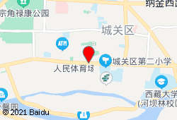 拉萨行宿赤江拉让民宿地图