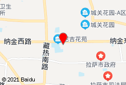 拉萨天峰国际大酒店地图