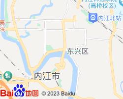 内江市中区电子地图