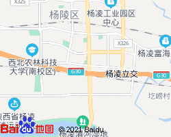 杨凌电子地图