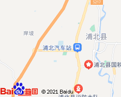 浦北电子地图