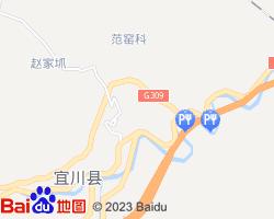 宜川电子地图