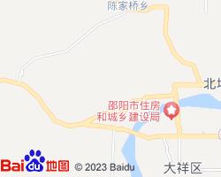 邵阳北塔区电子地图