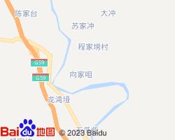 宜昌远安县电子地图