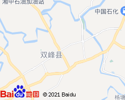 双峰电子地图