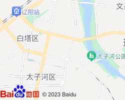 辽阳文圣区电子地图