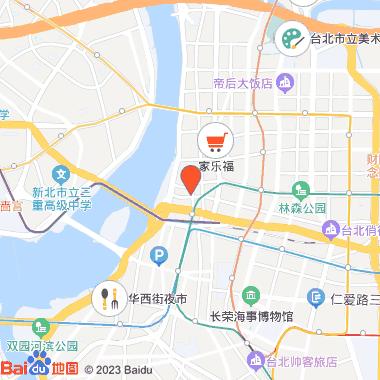 捷运中山站街区_心中山线形公园