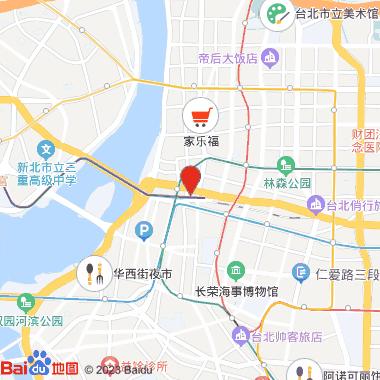 捷运中山站街区(心中山线形公园)