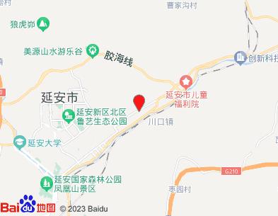 延安二十里铺机场位置
