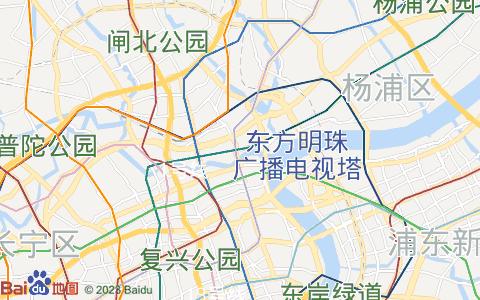 上海平面電子地圖