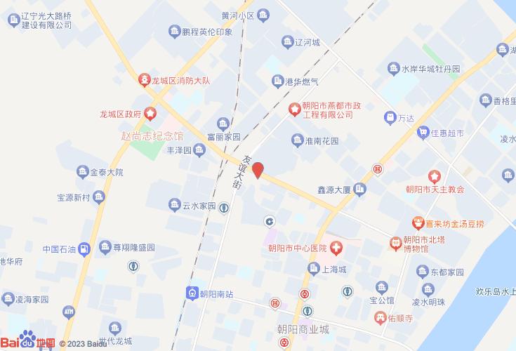辽宁朝阳地图双塔区地图_朝阳市双塔区兴隆附近火锅店